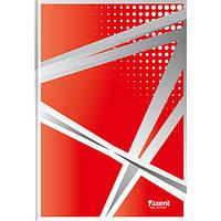 """Книга записная Axent серия """"Office"""", А4, картонная обложка, 96 листов, клетка, красная"""