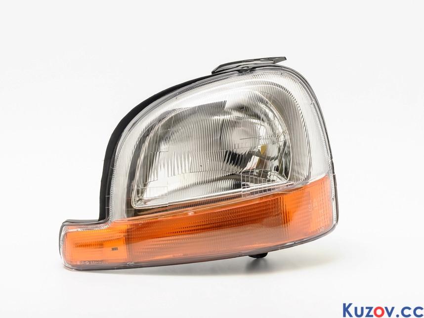 Фара Renault Kangoo 97-03 левая (Depo) электрич. 551-1127L-LD-EM 7701044037