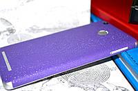 """Виниловая наклейка """"Фиолетовая алмазная крошка"""" Xiaomi Redmi 3S/3PRO (задняя часть) 0,11 mm"""
