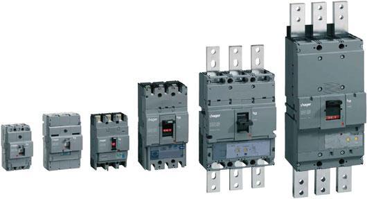 Силовые автоматические выключатели в литом корпусе e.next