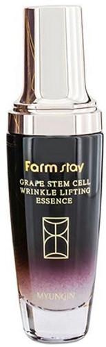 Лифтинг сыворотка с фито-стволовыми клетками винограда FARMSTAY Grape Stem Cell Wrinkle Lifting Essence