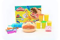 Набор для лепки Play-Doh «Мистер Зубастик» (качественный аналог) МК1525 (Набор стоматолога), фото 1