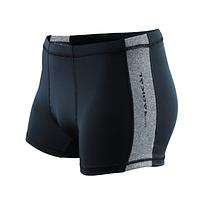 Плавки мужские купальные Radical Shoal (original), трусы-боксеры для бассейна, пляжа черный с серым, XL