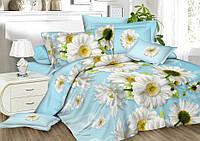 Комплект постельного белья семейный, полиэстер. Постільна білизна. (арт.7573)