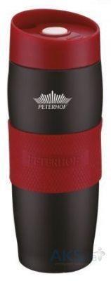Термокружка Peterhof PH-12419 400 мл black-red