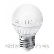 LED ЛАМПА ШАР WATC WT204 G45 5W E27 5000K ALU+PC 410LM