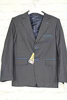 Пиджак синий для мальчика 140-170(Турция)