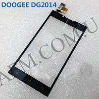 Сенсор (Touch screen) Doogee DG2014 чёрный
