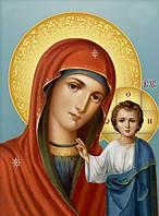 Алмазная живопись Икона Божией Матери DM-156 (40 х 55 см) ТМ Алмазная мозаика