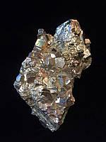 Пирит кристалл. Кристалл пирита натуральный (высота 11 см.)