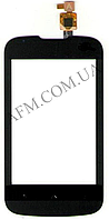 Сенсор (Touch screen) Fly IQ430 Evoke без камеры черный