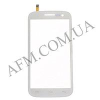 Сенсор (Touch screen) Fly IQ451 Vista белый