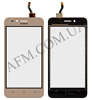 Сенсор (Touch screen) Huawei Y3 II (3G версия) золотой