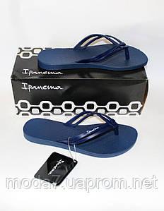 Женские  вьетнамки Ipanema оригинал синие