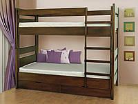 Кровать Селена 2-х ярусная(дерево) без ящиков Летро
