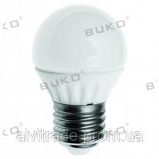Светодиодная лампа шар WATC  WT239 5W E27 5000K КЕРАМИКА 410LM