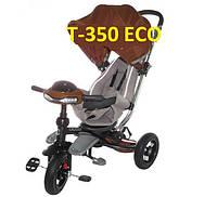 Велосипед-коляска Azimut T350 Crosser ECO (надувное колесо) коричневый