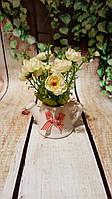 Чайник керамический с декором