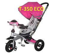 Велосипед-коляска Azimut T350 Crosser ECO (надувное колесо) розовый