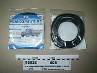 Ремкомплект гидроцилиндра подъема кузова ГАЗ-53 (4-х штоковый)