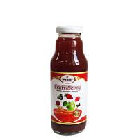 Натуральный фруктовый напиток «Frutti Berry» (яблоко, клубника, арония) 0,3 л