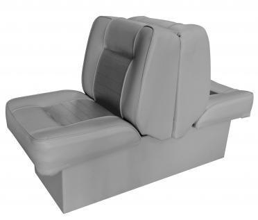 Сиденье для яхты, катера, лодки Premium Lounge Seat цвет - синий, серый