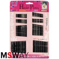 YRE Невидимка для волос HGS-01 (100шт=40мм, 50шт=55мм) 150шт Hair Pins