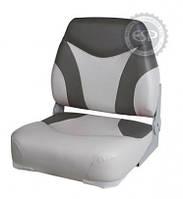 Сиденье для катера, лодки, яхты Premium Folding Seat серо-белое 865131