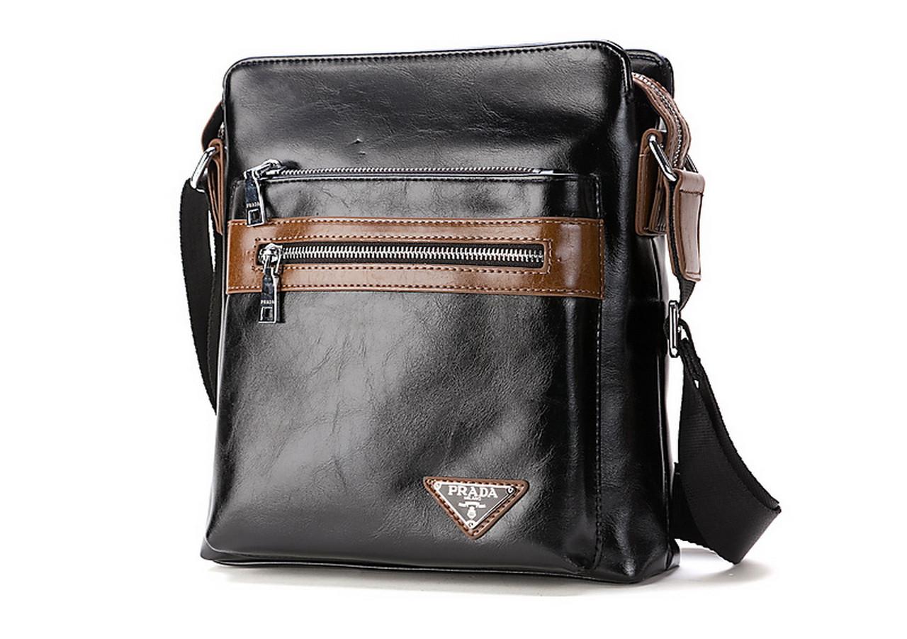 bd1118f0121f Качественная мужская сумка Prada. КС34  продажа, цена в Бердянске ...