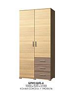 Шкаф Бриз ШП-4, производитель мебельная фабрика Эверест