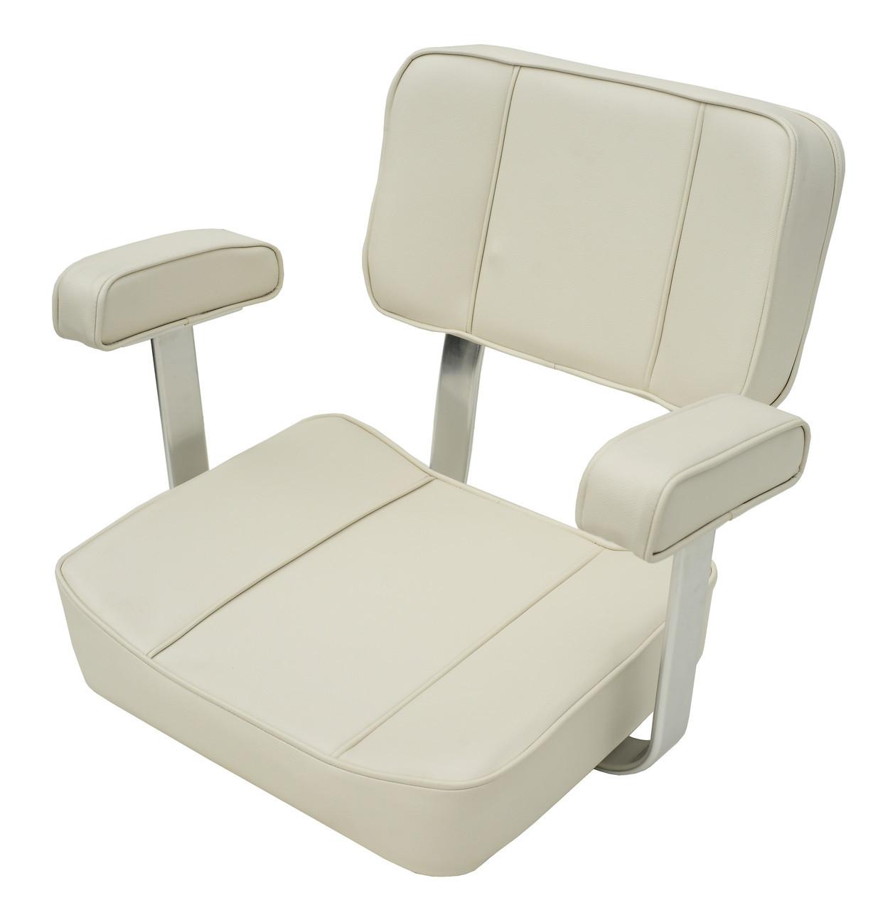 Сидіння для катера Captain біле
