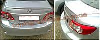 Спойлер под покраску на Toyota Corolla 2013