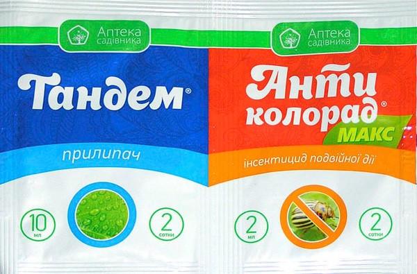 Антиколорад Макс 2 мл + Тандем 4 мл, Укравит