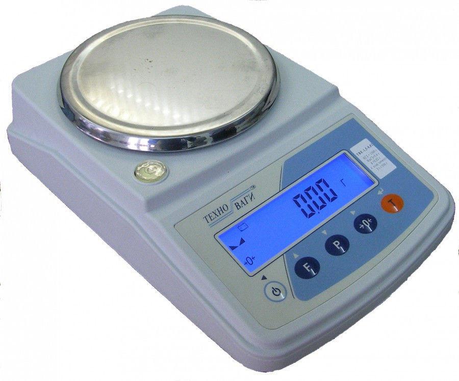 Лабораторні ваги електронні ТВЕ 500 г