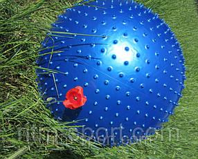 М'яч для фітнесу масажний d 75 см