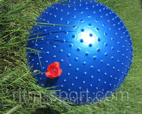 Мяч для фитнеса массажный d 75 см, фото 2
