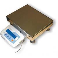 Весы лабораторные электрические ТВЕ 12-150 кг размер платформы 400х400 мм