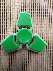 Spinner Спинер тройной зелено/ белый