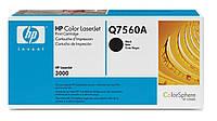 HP Q7560A (314A) black для Color LaserJet 2700/3000 series