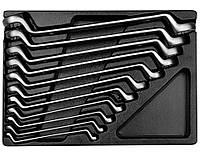 Ключи накидные (комплект) в ложементе  6-32 мм.