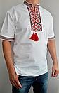 Мужская вышиванка короткий рукав 208, фото 3
