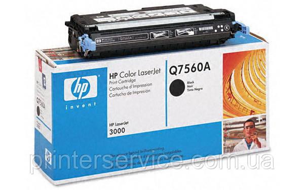 Картридж HP Q7560A (314A) black для цветных принтеров HP Color LaserJet 2700/3000 series