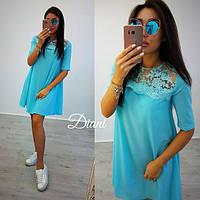 Свободное летнее платье в расцветках d-t140314