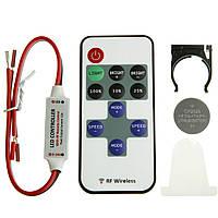 Диммер 12А Радио RF (ДУ 11 кнопок, 4 режима)