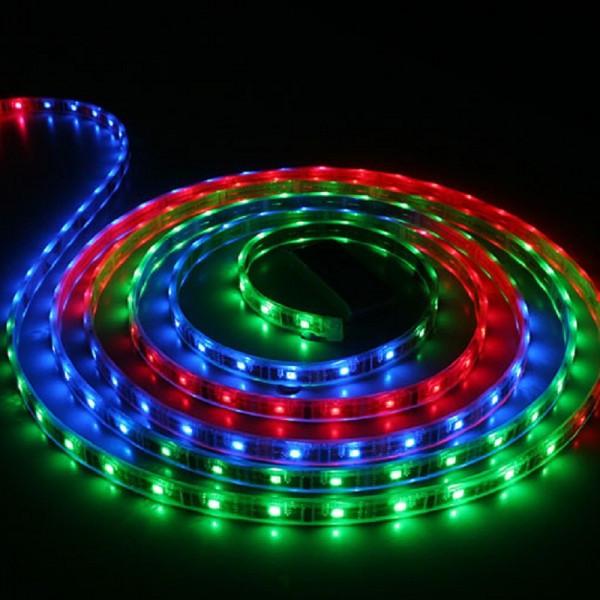 LED лента СТАНДАРТ 60Led/m SMD5050 14,4W/m 12V IP20 RGB