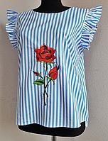 Блузка женская с рюшами