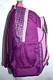 Женский школьный рюкзак хорошего качества 26*42 (фуксия), фото 2