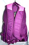 Женский школьный рюкзак хорошего качества 26*42 (фуксия), фото 3