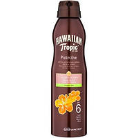 Водостойкое масло для загара Hawaiian Tropic Protection Dry Oil Spray, SPF 6