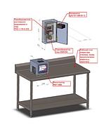 Система регистрации и сигнализации шахтоподъемного механизма